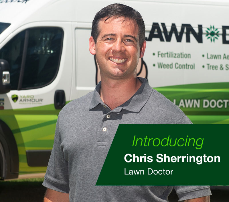 Chris Sherrington of Lawn Doctor